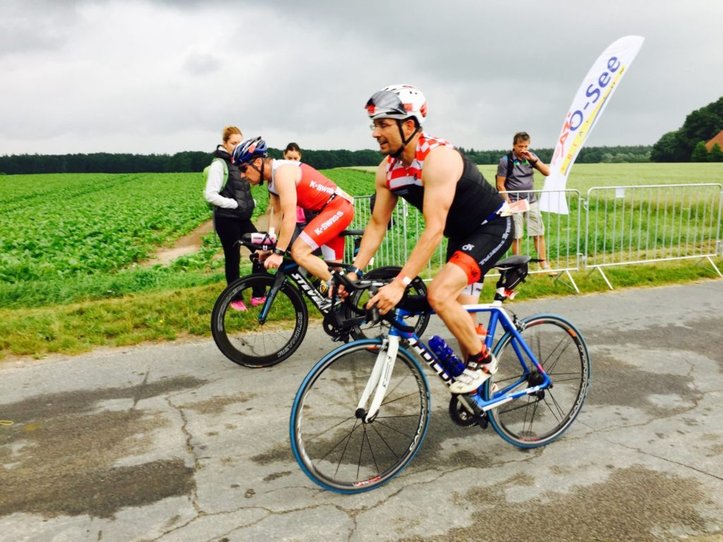 Triathlöwen beim O-See Triathlon in Uelzen